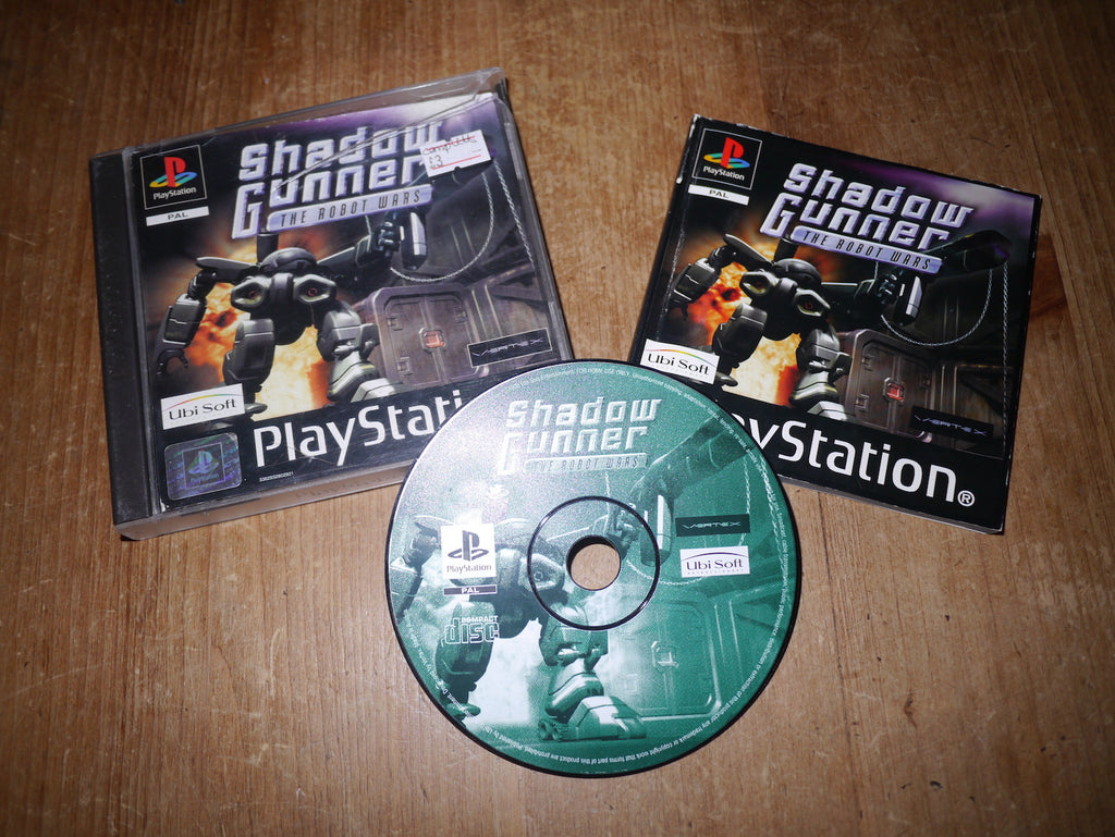 Shadow Gunner: The Robot Wars (Playstation)