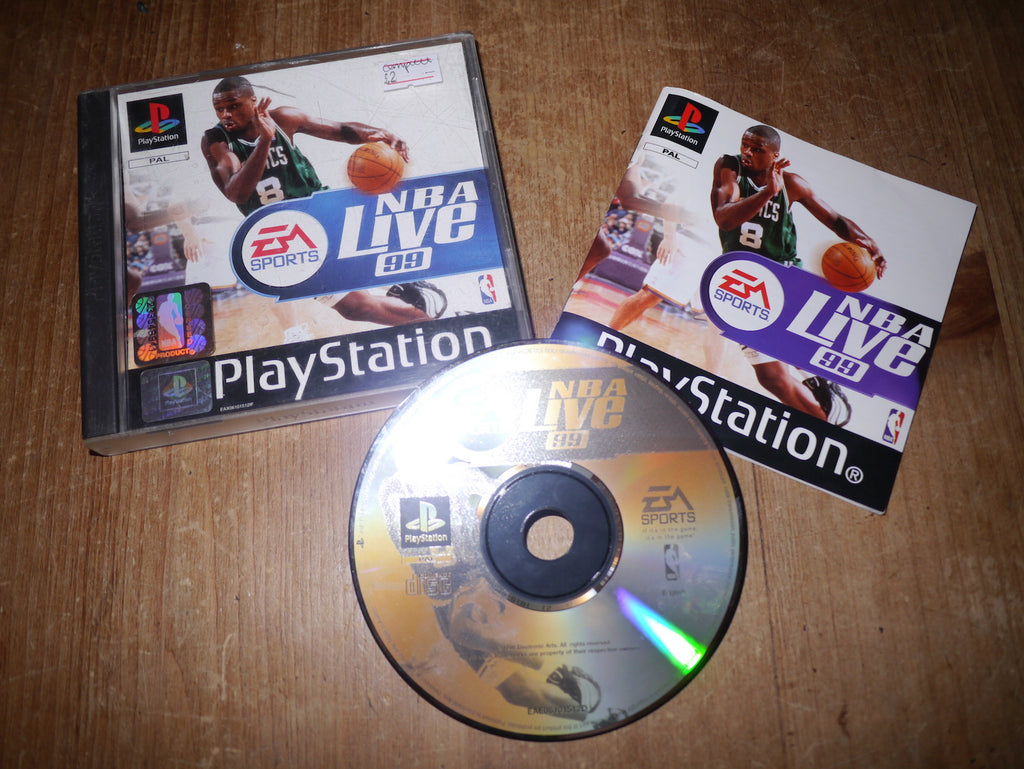 NBA Live 99 (Playstation)
