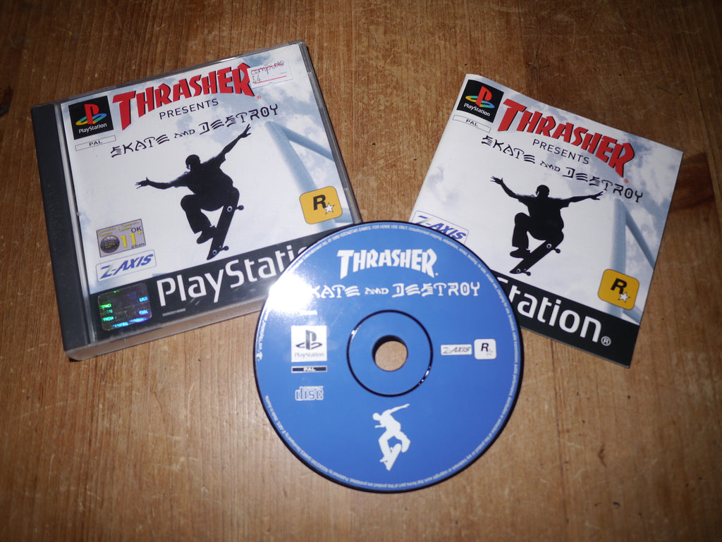 Thrasher Presents Skate & Destroy (Playstation)