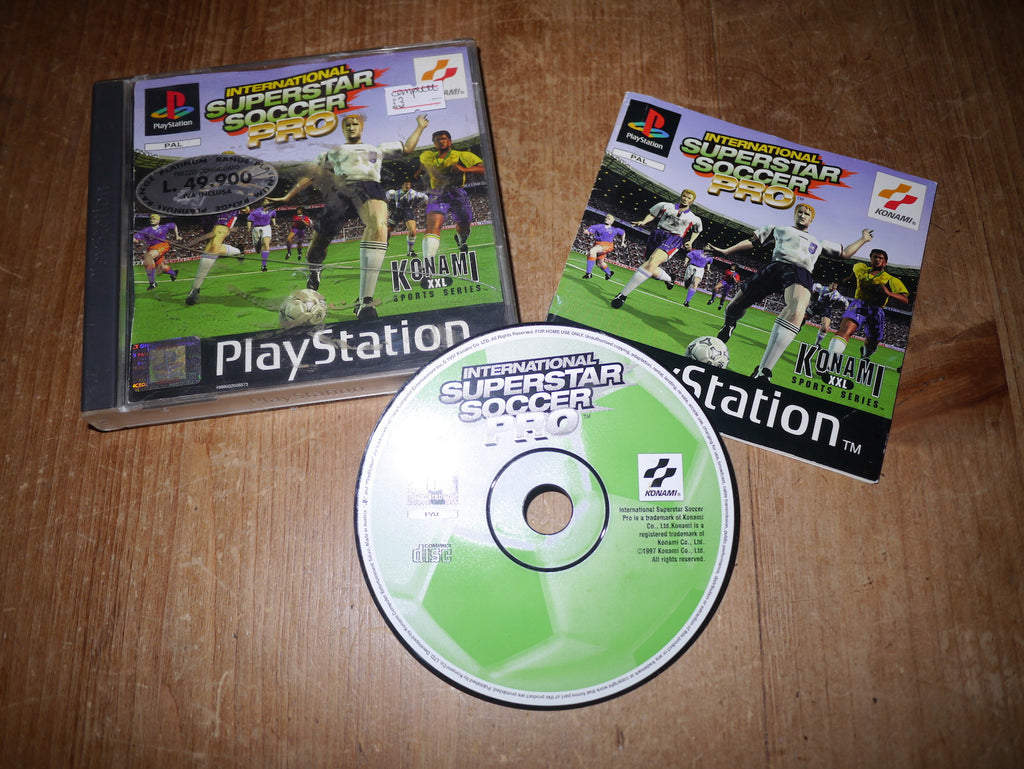 International Superstar Soccer Pro (Playstation)