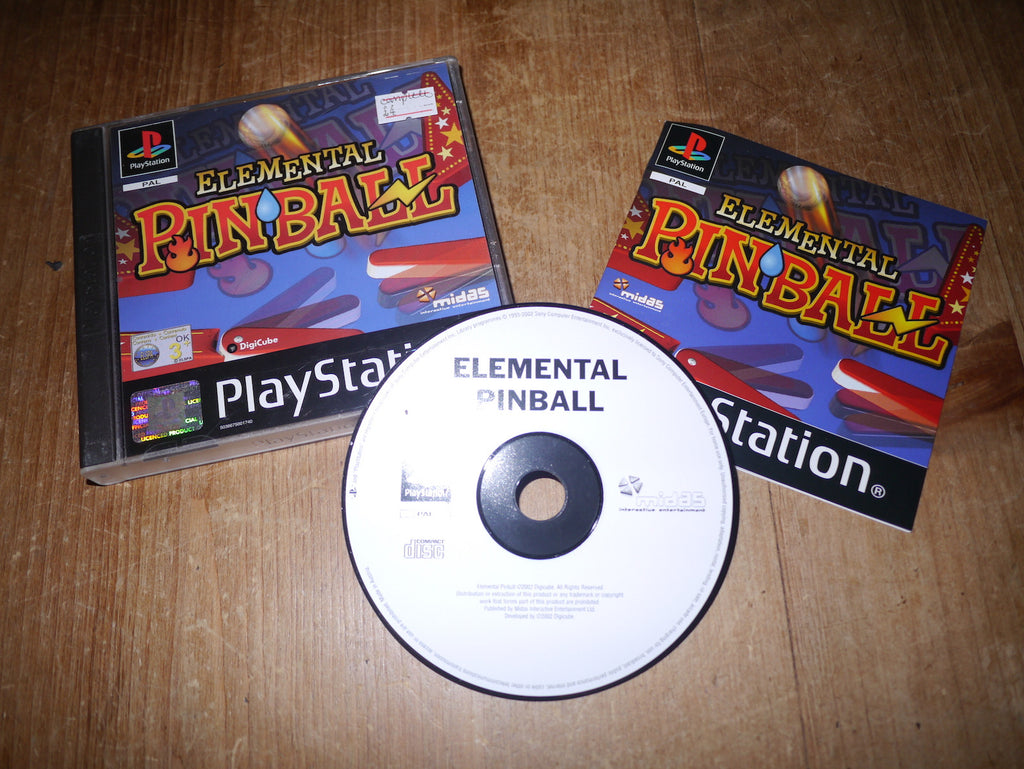 Elemental Pinball (Playstation)