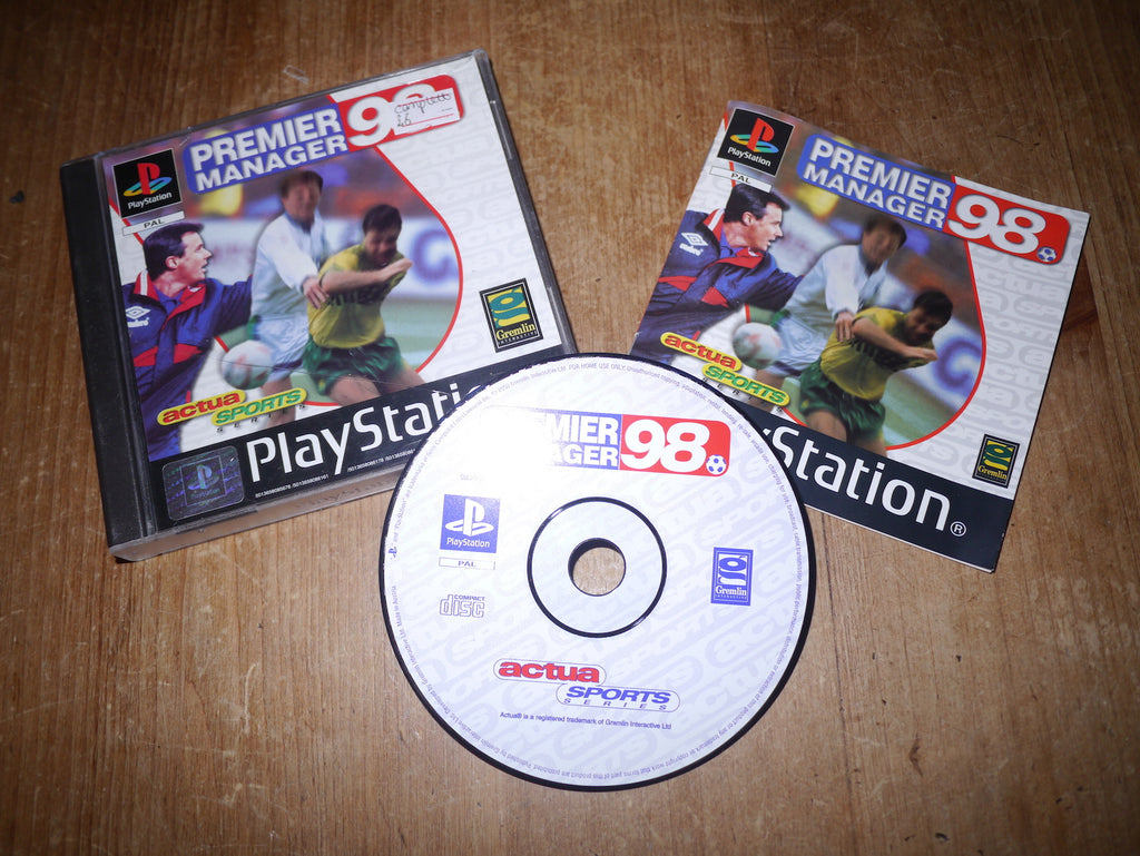 Premier Manager 98 (Playstation)