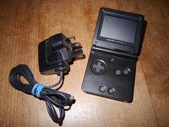 Nintendo Game Boy Advance SP with Charger (Black)