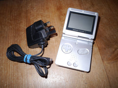 Nintendo Game Boy Advance SP with Charger (Silver)