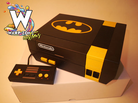 Batman Edition - Custom NES Console - NEW 72 PIN