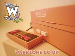 Custom Kirby Edition - NES Console - NEW 72 PIN