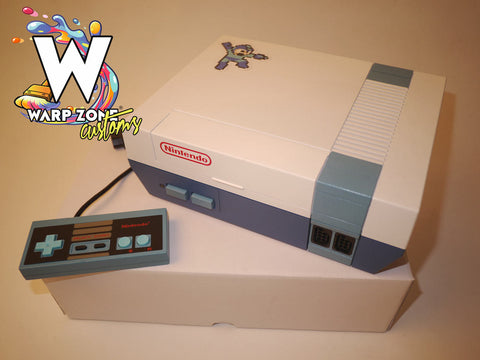 Megaman Edition - Custom NES Console - NEW 72 PIN