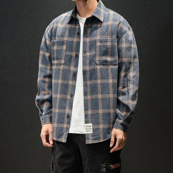 Crew Plaid Long Sleeve Shirt