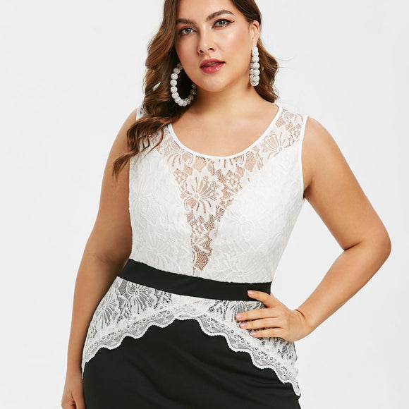Lilian Lace Bodycon Mini Dress