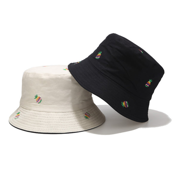 Pineapple Double-sided Bucket Hat