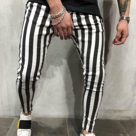 Stripe Skinny Striped Jean