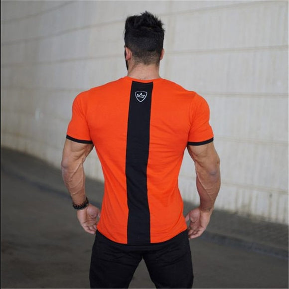 Stanch Orange Gym T-Shirt