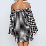 Kendall Lattice Mini Dress