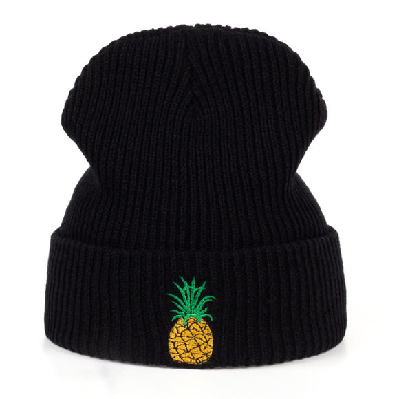 Pineapple Knitted Beanie
