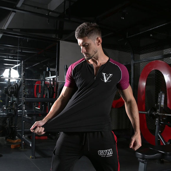 V splice Gym T-Shirt