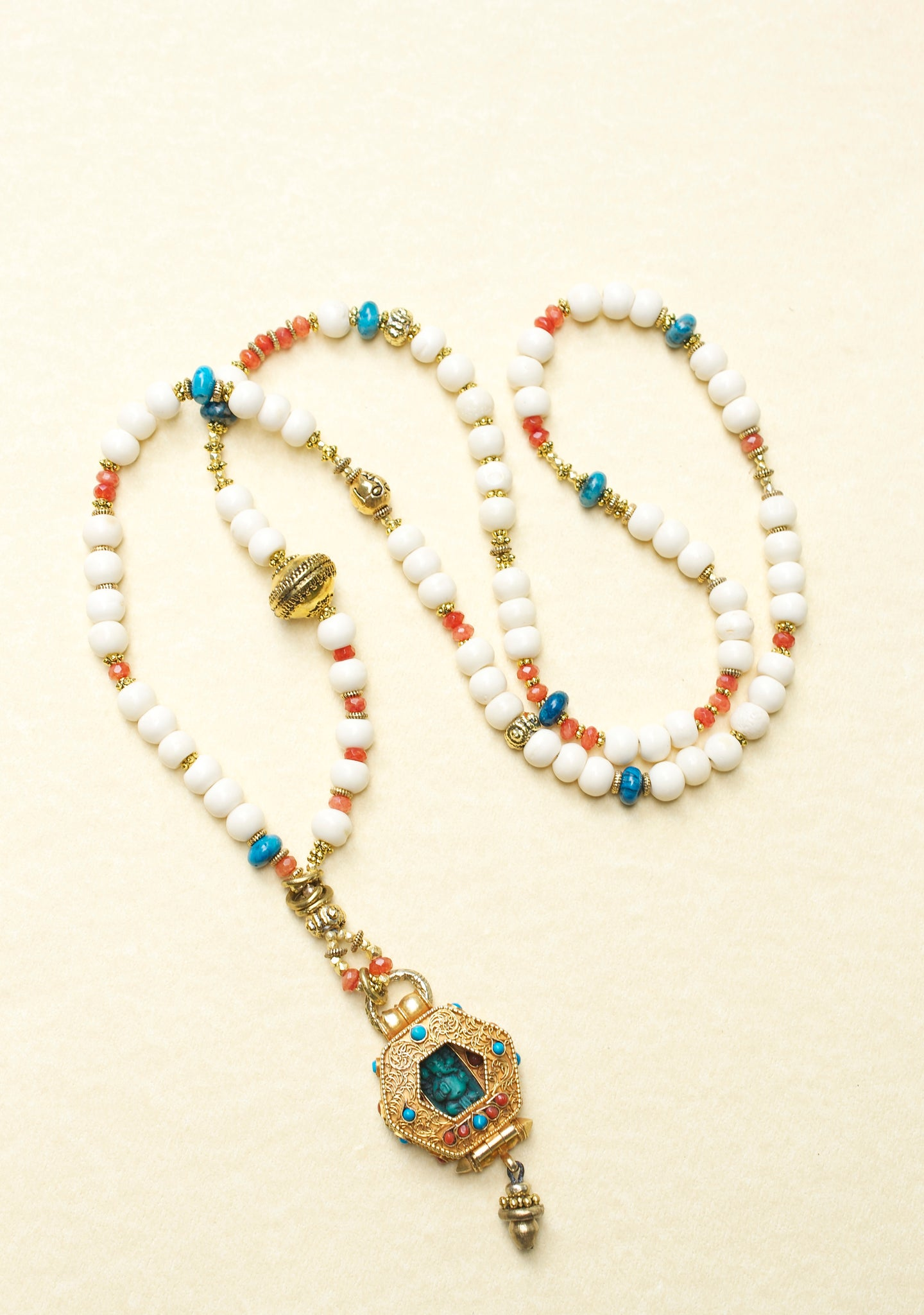 Ganesha One of A Kind Wish Necklace