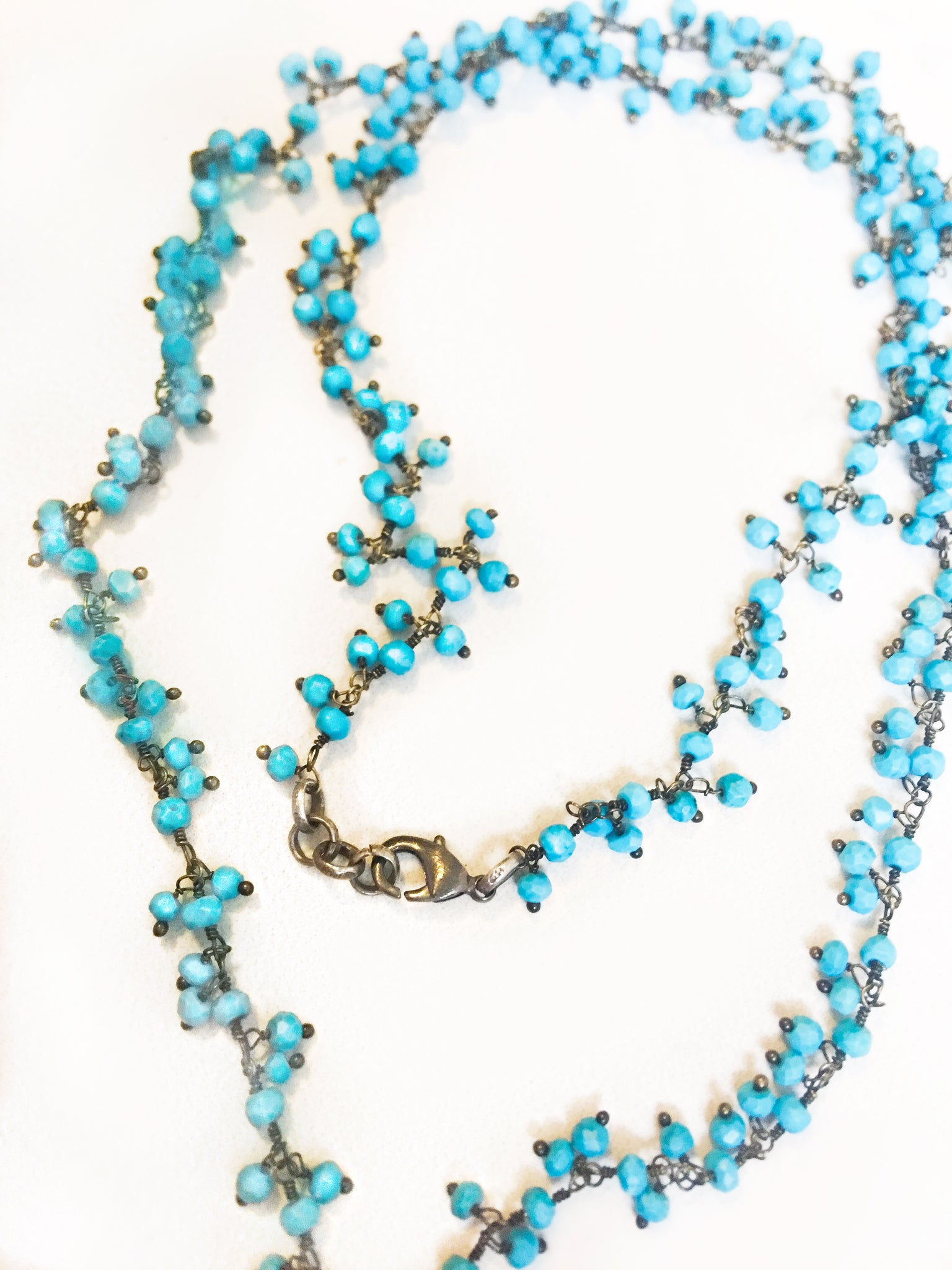 Sweet Buddha Turquoise Necklace