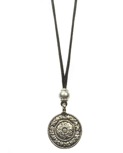Coin Legend Cord Necklace
