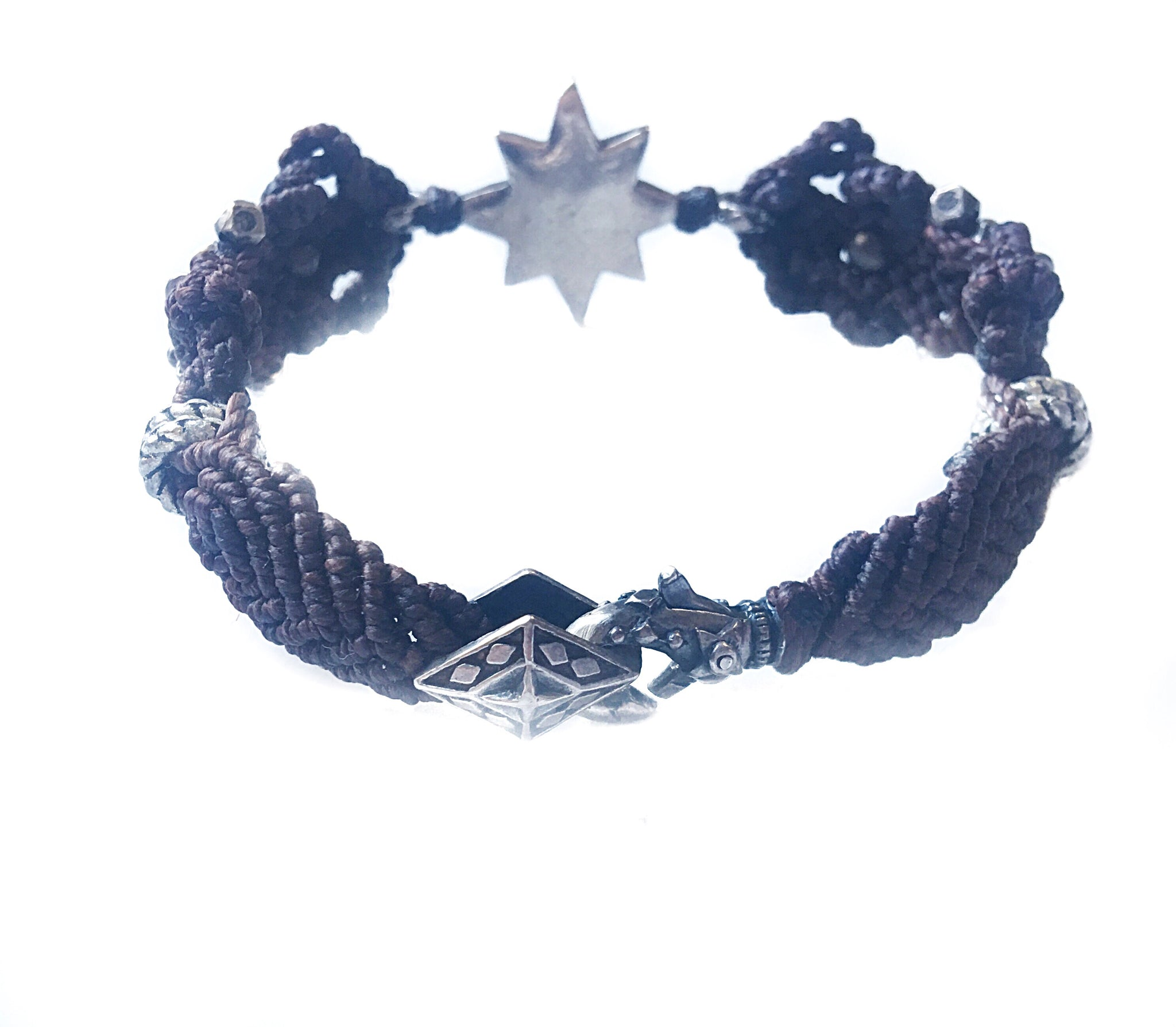 Diamond Star Macrame Bracelet