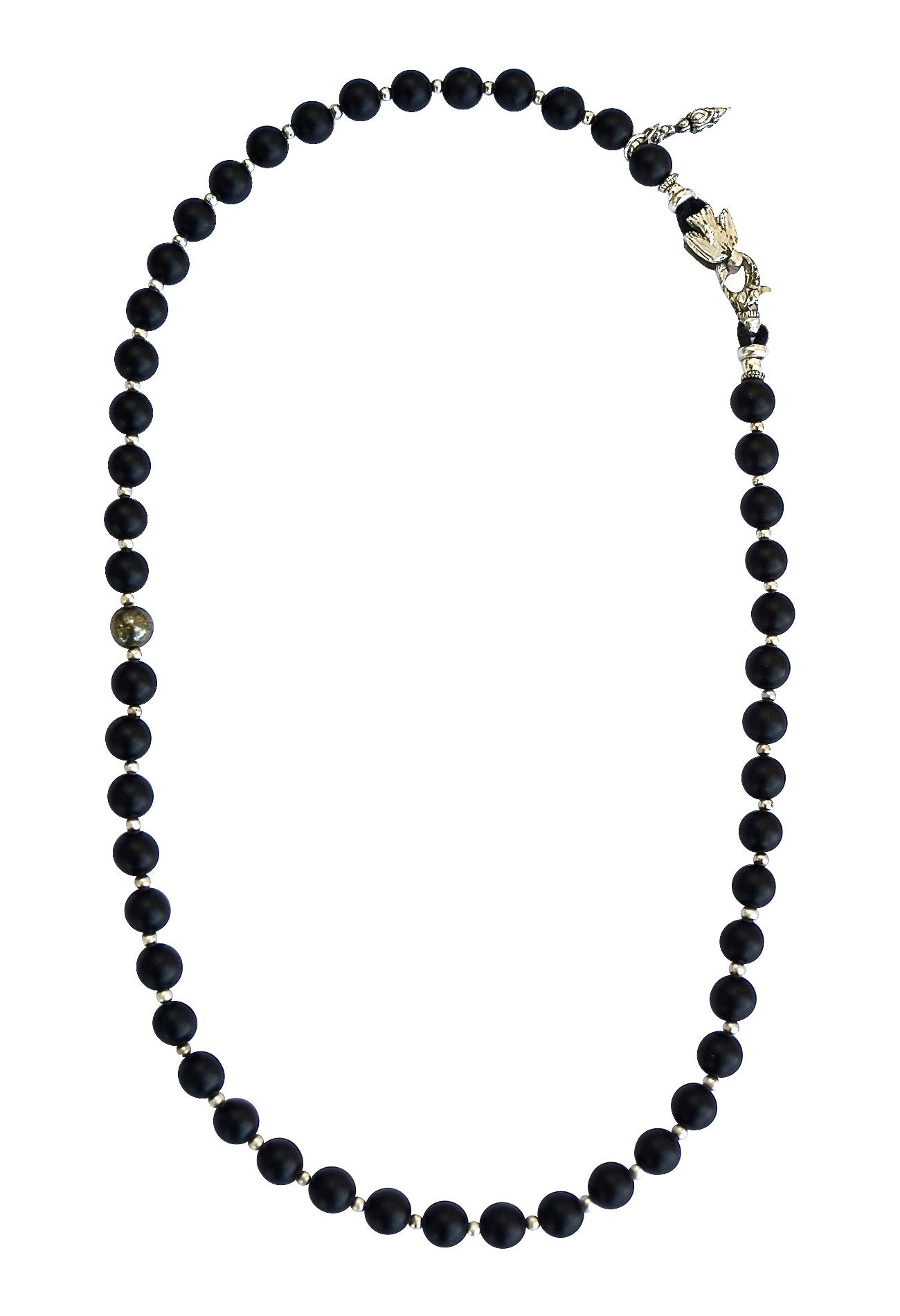 artwear of black stellascloset colombian pendant natural emerald stones on onyx necklace and mixed metal shop