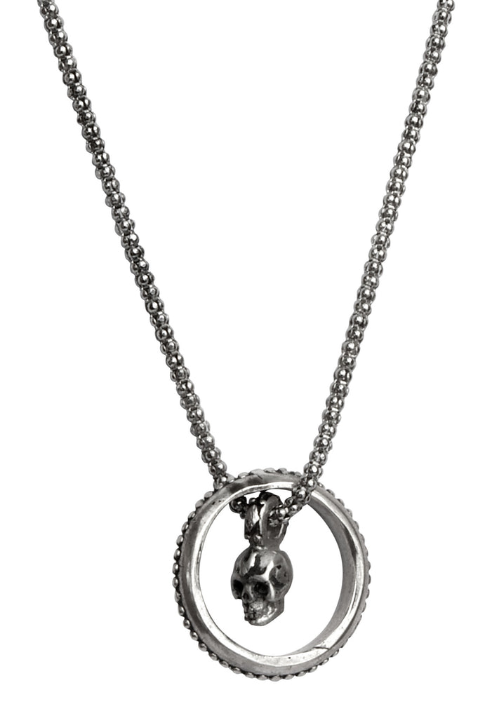 Re-Birth Mini Skull Eyering Chain