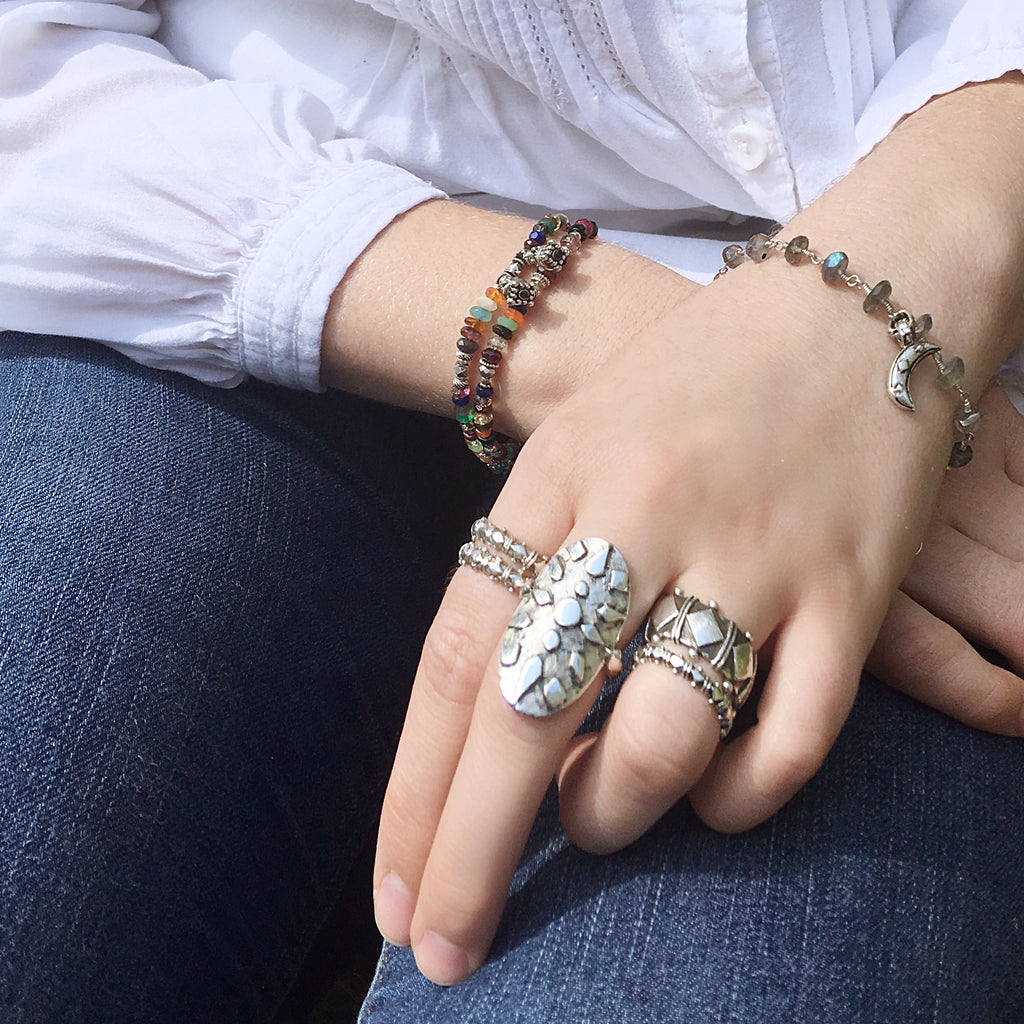 Shakti Stacker Rings