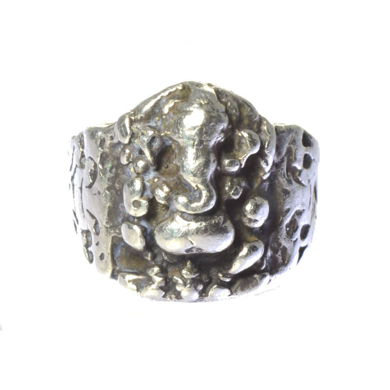 mens ganesha ring