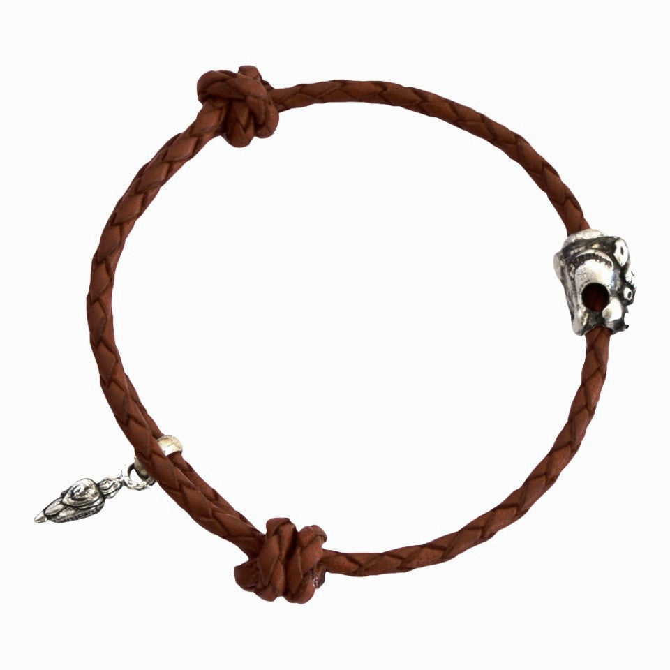 Strength Giving Dragon Bracelet-Mocha