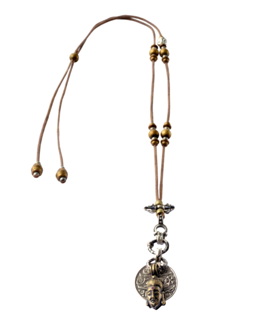 Buddha Cord Necklace
