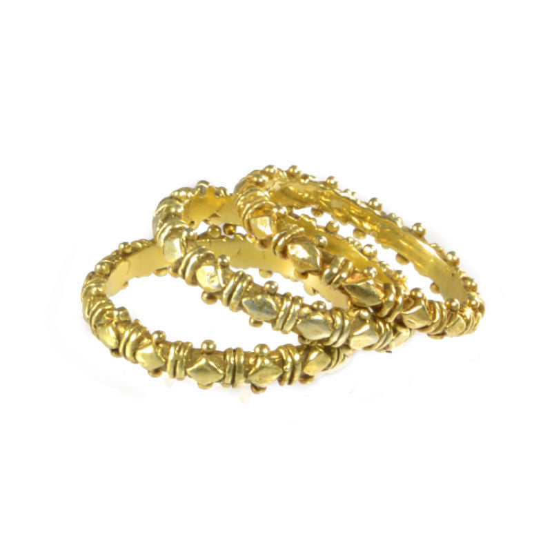 Skinny Gold Shakti Stackers