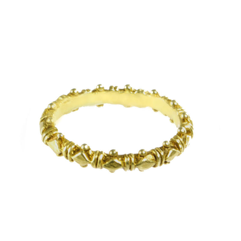 Skinny Gold Shakti Stackers 2