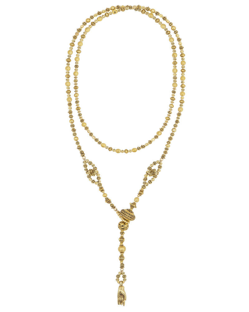 Gold Lariat long