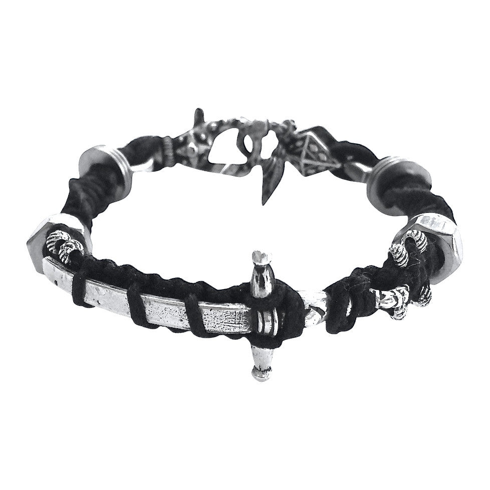 Women's Sterling Sword Bracelet