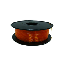 Flexible TPU Filament pour imprimante 3D, 1,75 mm, bobine de 0,8 kg, orange transparent