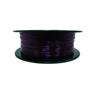 Flexible TPU Filament pour imprimante 3D, 1,75 mm, bobine de 0,8 kg, violet transparent