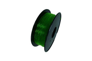 Flexible TPU Filament pour imprimante 3D, 1,75 mm, bobine de 0,8 kg, vert transparent