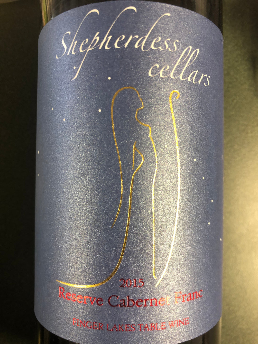 Shepherdess Cellars Cabernet Franc Reserve, Finger Lakes 2015