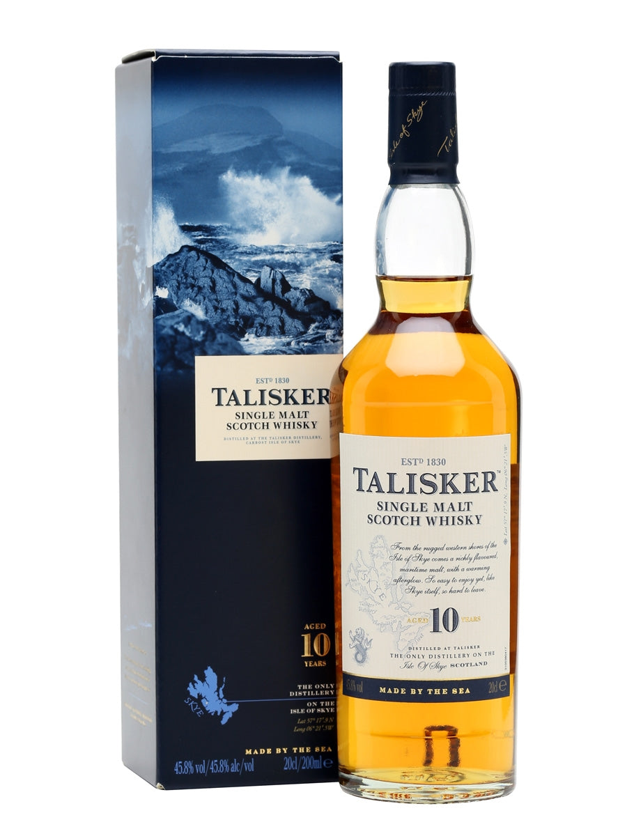 Talisker 10 Isle Of Skye Single Malt