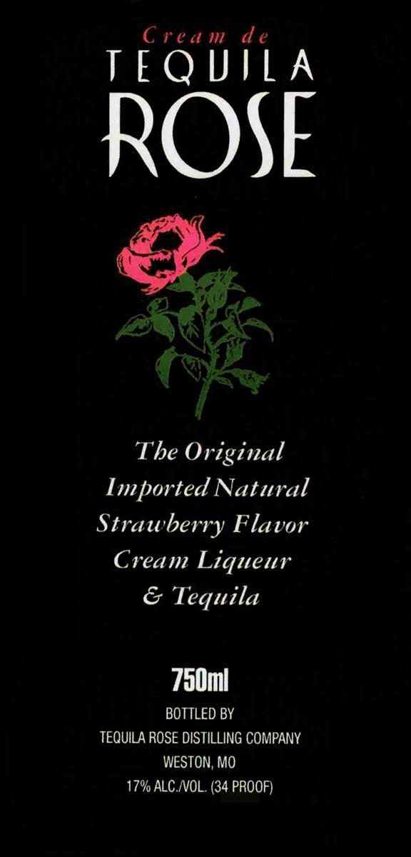 Tequila Rose Cream Liqueur (750ml)