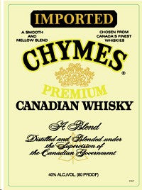 Chymes Premium Canadian Whisky (375ml)