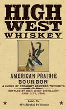 "Load image into Gallery viewer, High West Blended Bourbon ""American Prairie"" (750ml)"