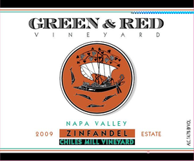 "Green & Red Zinfandel ""Chiles Canyon Estate"", Napa Valley 2017"