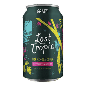 Lost Tropic Hop Mimosa Cider, Graft Cidery