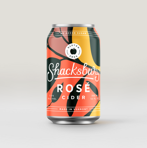 Rosé Cider, Shacksbury (12 oz can)