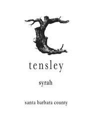 Tensley Wine Company Syrah, Santa Barbara County 2019