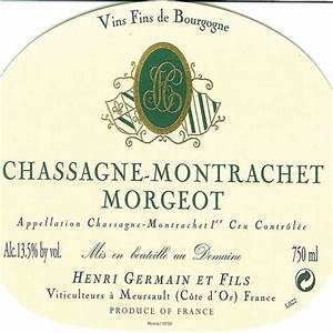 "Chassagne-Montrachet Blanc 1er Cru ""Morgeot"", Germain 2018"