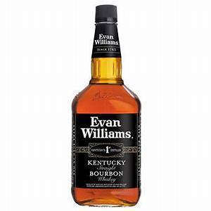 Evan Williams Bourbon Black Label 86 prf (750ml)