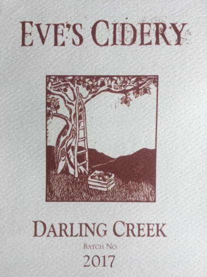 "Eve's Cidery ""Darling Creek"" 2017"