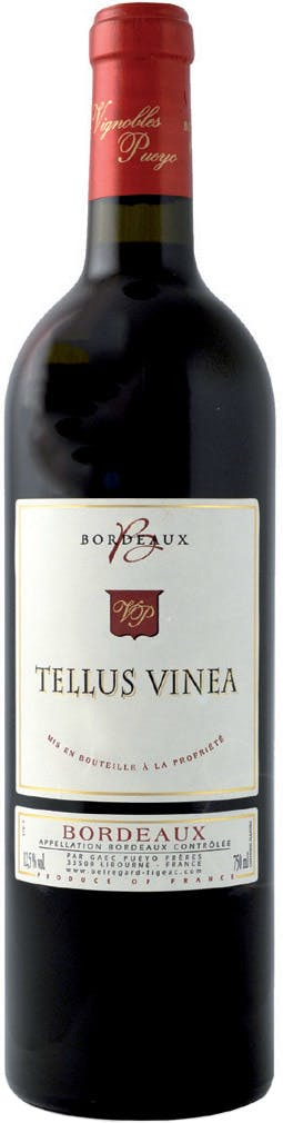 Tellus Vinea, Bordeaux Rouge 2018