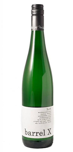 "Peter Lauer Riesling Feinherb ""Barrel X"
